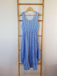 Valleygirl Dress Size 10 Blue