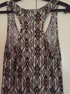 Racer back Maxi Dress (stretch)