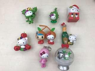 Hello Kitty小擺設,內有特別版(買一送一)