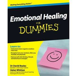 Emotional Healing For Dummies (379 Page Mega eBook)