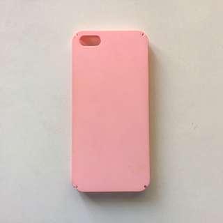 Iphone Pink Hard Casing