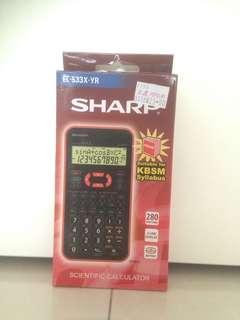 Sharp scientific calculator EL-533X