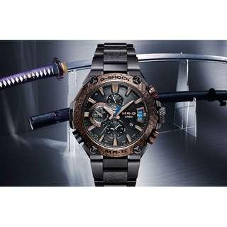 Casio G-Shock MR-G 旗艦品 MRG-G2000HA [ 鐵鐔 (tetsu-tsuba) / 全球限量350 隻(可簽卡 / 可分期 /現金交易優惠)06/22