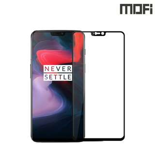 OnePlus 6 MOFI 金剛全屏鋼化玻璃膜 全屏覆蓋強化玻璃貼 0657A