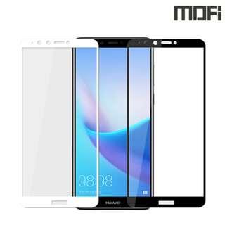 華為暢享8 Plus HUAWEI Y9 2018 MOFI 金剛全屏鋼化玻璃膜 全屏覆蓋強化玻璃貼 0656A