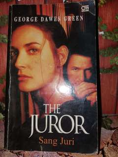 Novel bekas The Juror - sang juri