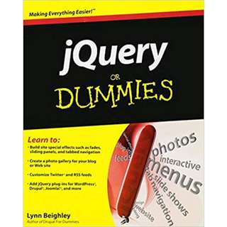 jQuery For Dummies (364 Page Mega eBook)