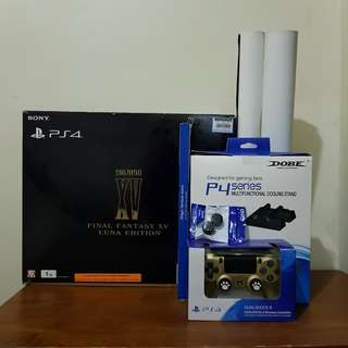 PS4 1TB Limited Luna Edition