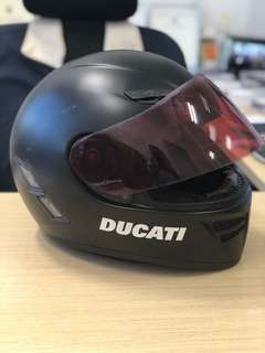 AGV S4 Full Face Helmet with Ducati decal