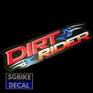 Dirt Rider Reflective
