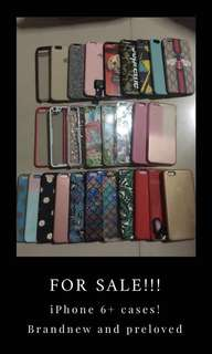 Preloved and brandnew iPhone 6plus cases