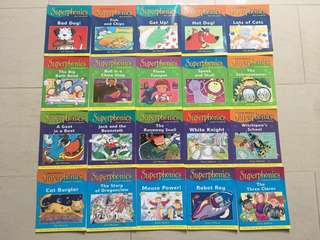 Brand new Superphonics 20-Book Collection by Ruth Miskin