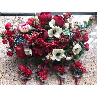 車花 襟花 Lemongrass Wedding Floral & Accessories