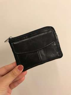 Genuine leather coin bag for let go!!