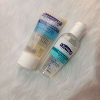 BUNDLE! Celeteque Facial Wash & Acne Solutions Toner
