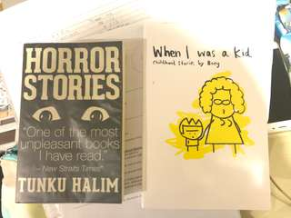 PRELOVED WHEN I WAS A KID AND HORROR STORY
