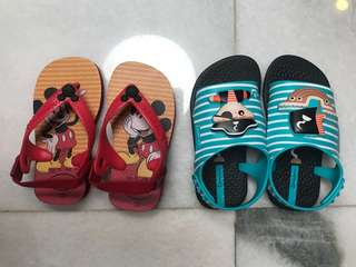 Havaianas and Ipanema sandals Kid size 21
