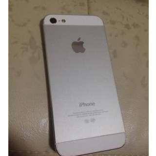 iPhone5 16G-Original 白色(ios10)