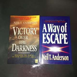 2 Neil T Anderson books