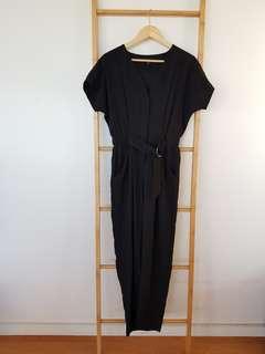 Forever New Black Jumpsuit Size 6