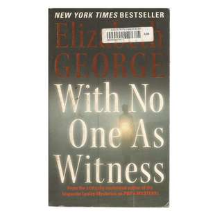 Elizabeth George - With No One As Witness
