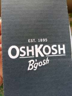 Oshkosh baby shoes