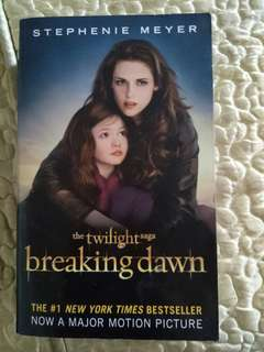 Twilight Saga Breaking Dawn Book