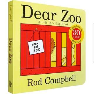 🚚 Dear Zoo Lift the Flap Book
