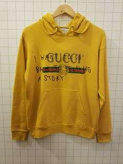 Gucci 長期熱賣款式 Yellow hoodie sweater