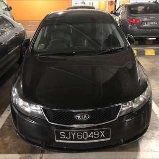 Car Rental 2010 Kia Forte 1.6W $300/wk