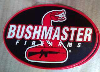 Bushmaster bumper sticker decal
