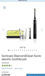Philips sonicare toothbrush black color