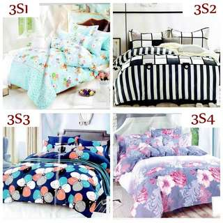 4 in 1 Cotton Bedsheet Set