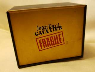 "Jean Paul Gaultier Miniature perfume ❝The Small Magic Box"" Collectible item."