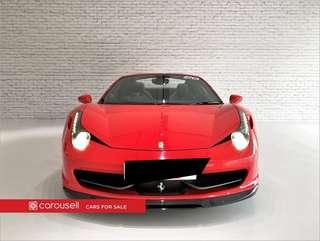 Ferrari 458 Spider 4.5 Auto