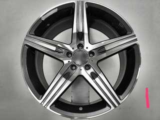 賓士18 19吋鋁圈 四種共選擇 四顆一起20000前 前後配 Benz bmw porsche