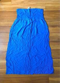 PLUS SIZE Forever 21 Blue Maxi Dress