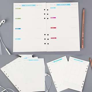 A5/ A6 Inserts for Planner/ Journal [PO]