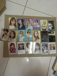 Twice what is love , merry happy photocard