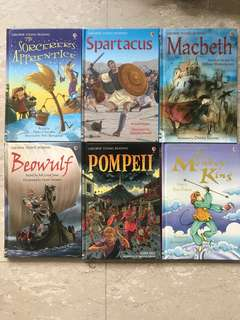 Usborne story books
