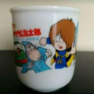 東映動畫鬼太郎日式茶杯,正品,收藏多年。
