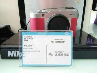 Kredit kamera FUJI cukup bayar admin