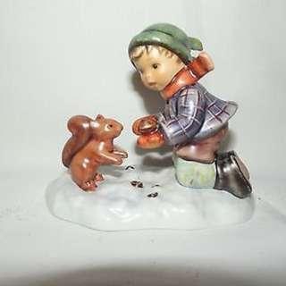 "Goebel Hummel Figurine ""Playful Pals"" #2053 TMK7"