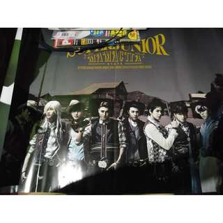 Super Junior Mamacita official poster (folded)