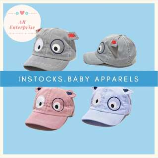 🚚 ❤️CUTE Baby Cap (INSTOCKS)