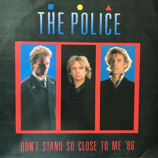 "12"" Single: Police- Don't Stand So Close To Me' 86 (Vinyl Record)"