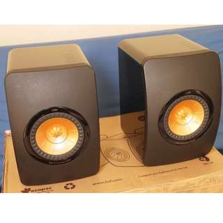 KEF LS50 50TH Anniversary Edition (Pair) Boxed in Original Packaging