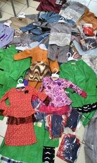 Lelong baju melayu,sandal,puplem dgn harga borong