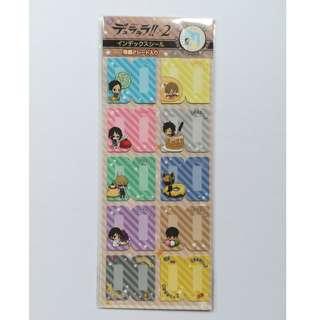 Durarara!!x2 - Index Seal / Sticker