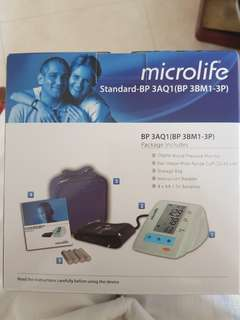 Microlife Digital Blood Pressure Monitor